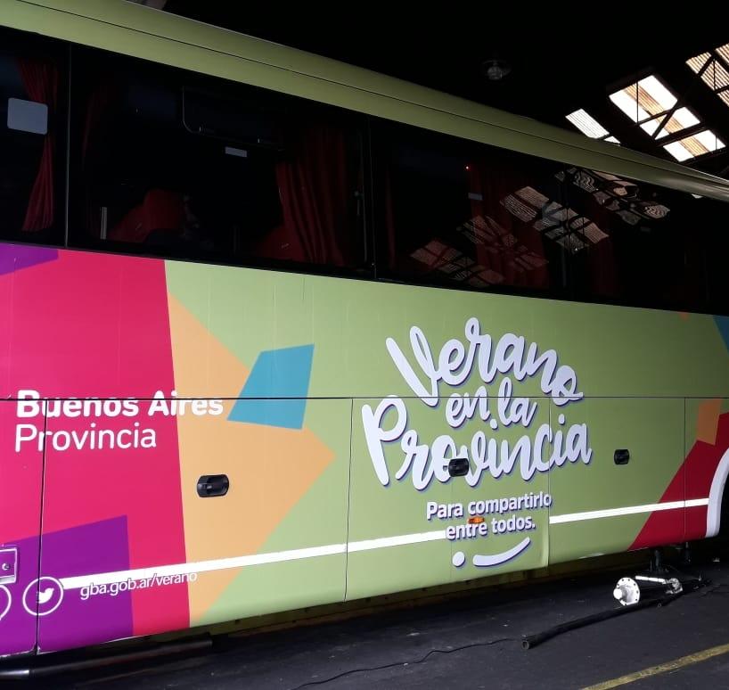 Llega el Bus Turístico de Provincia a Pehuen Co