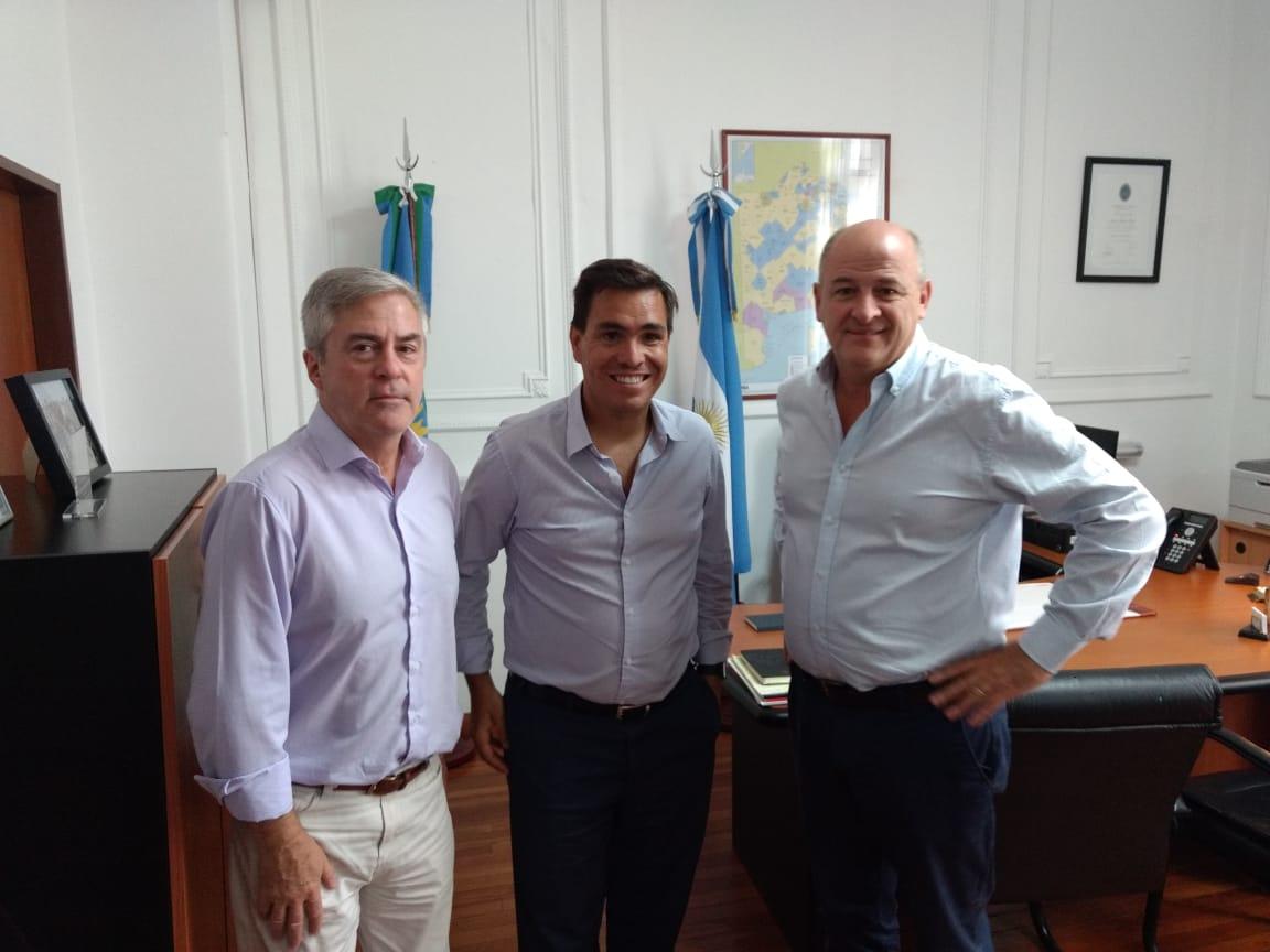 Uset logró importante avance para la creación del consorcio de Puerto Rosales