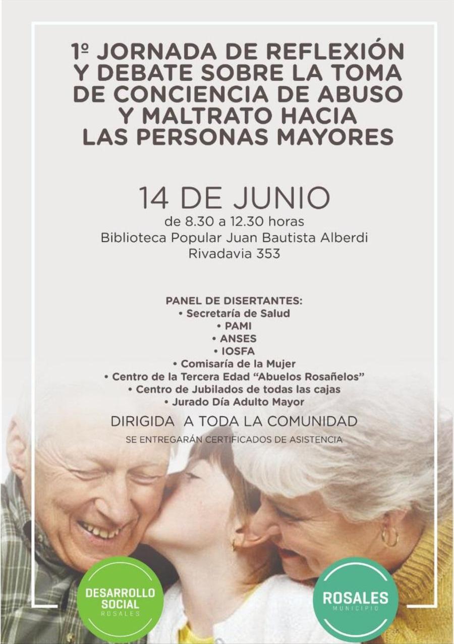 Primera jornada por la toma de conciencia de abuso y maltrato hacia personas mayores