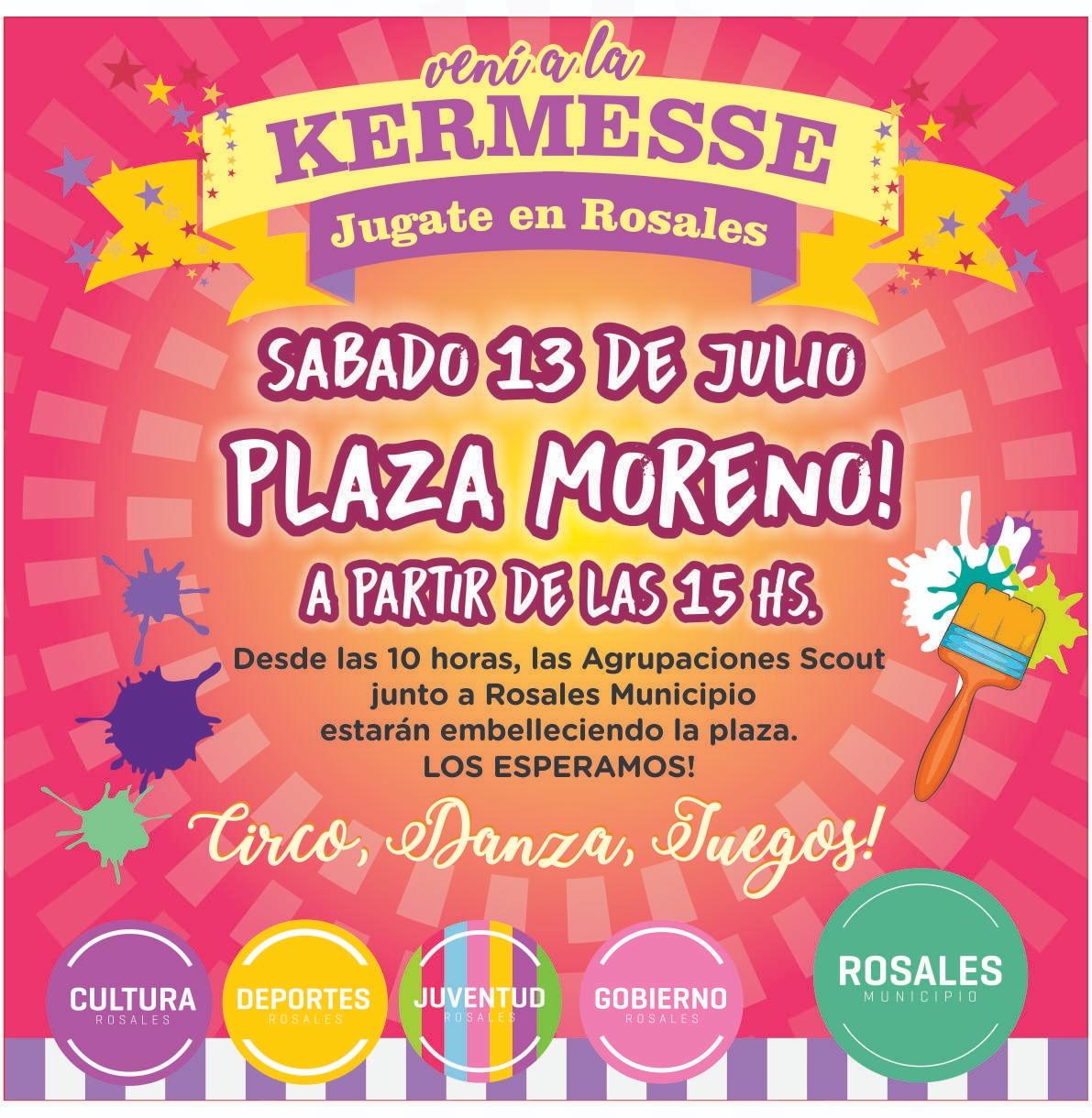 Se embellecerá la Plaza Moreno y estará la Kermesse del Municipio