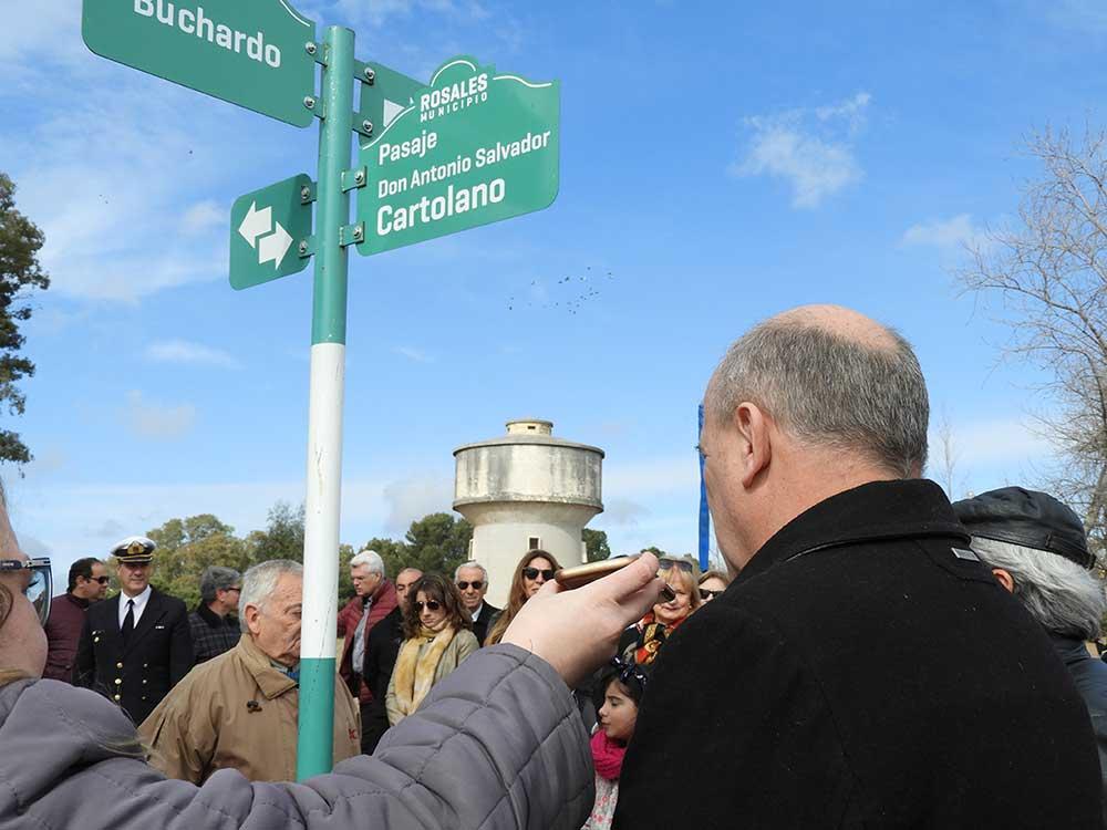 """Se inauguró el """"Pasaje Cartolano"""" en el Parque San Martín"""