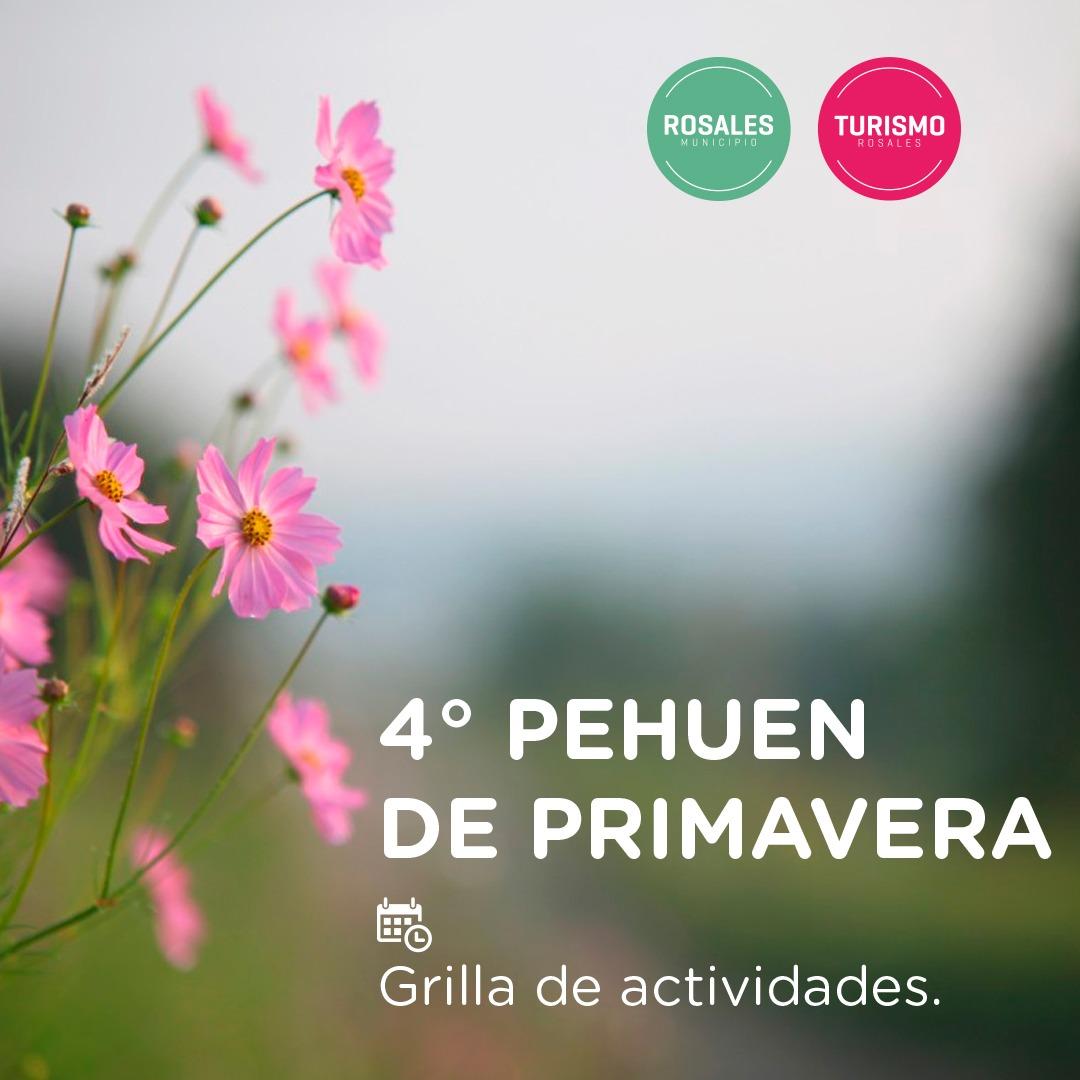 Empezó octubre, y se viene el 4° Pehuen de primavera