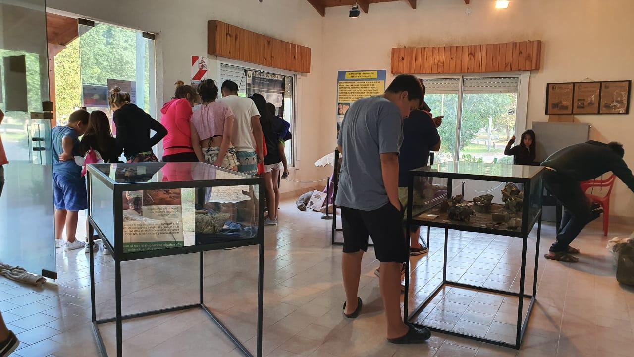 Cuando vas a Pehuen, podés visitar la Sala Paleontológica Florentino Ameghino