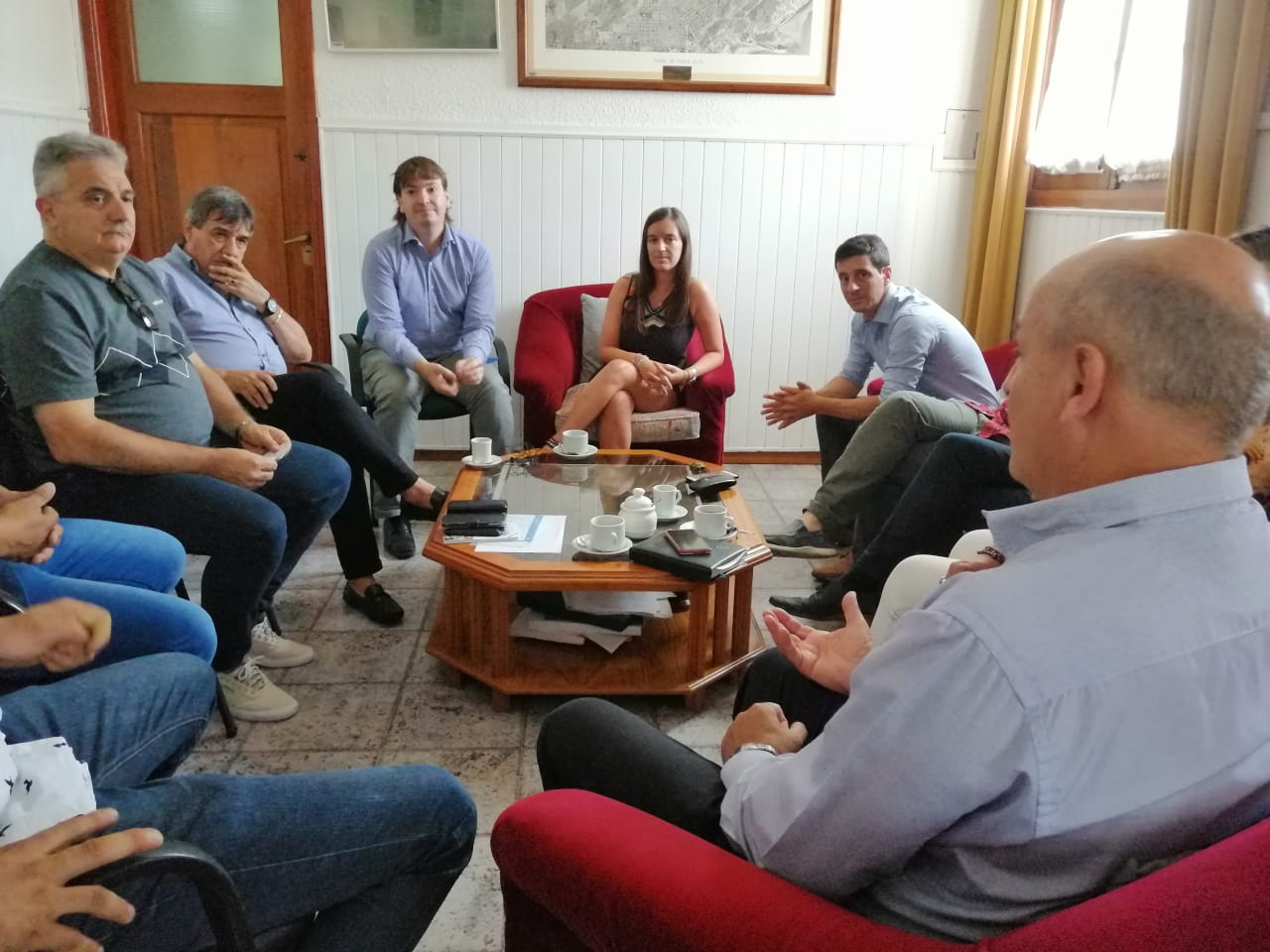 El intendente recibió al titular de la Federación de Sindicatos Municipales Bonaerense
